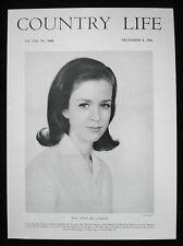 JANE MARIE DE LASZLO OF GODALMING WILLIAM HAYWOOD RUFFIN 1pp PHOTO ARTICLE 1966