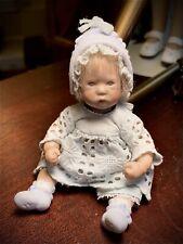 "Annette Himstedt Porcelain Masterpiece Miniature Doll ""Mili� 2002"