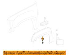 GM OEM Fender-Wheel Well Flare Retainer 11589294