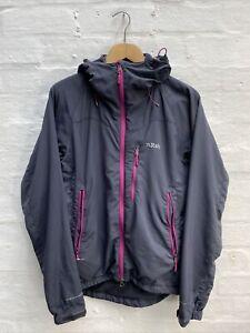 DA3 Rab Vapour-Rise Women's Jacket Micro Fleece Liner Grey/Pink Size 14