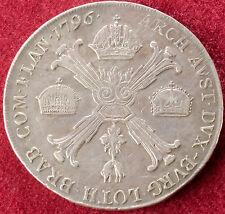Austrian Bohemia Thaler 1796 A (C2210)