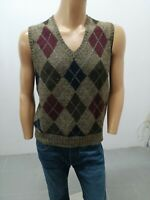 Gilet RALPH LAUREN Uomo taglia size L sweater man pull homme giromanica p 6065