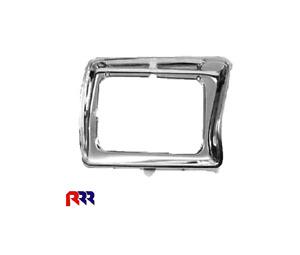 FOR FORD F100 78-80 HEADLIGHT SURROUND CASE RIM- SQUARE,CHROME - PASSENGER SIDE