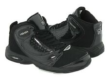And1 Basketball shoes Sneakers Take'Em Mid D199MBBS sz 9.5 Black NEW