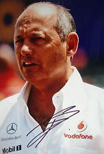 Ron Dennis SIGNED 12x8 , Portrait , F1 McLaren Chairman & CEO