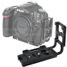 Vertical Shoot Quick Release Plate L Bracket for Nikon D3200 D3100 D700 D600 D90