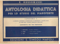 Rossomandi: Anthologie Für Lo Studio Der Klavier Kategorie C Fa.viii