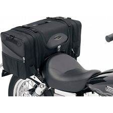Saddlemen TS3200 Deluxe Cruiser Motorcycle Luggage Rear Tail Bag - Black