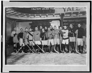 Crescent hockey team,champions of amateur league,New York,NY,1911,Ice hock 9121