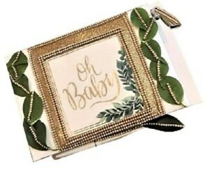 """Oh Baby Guest Baby Shower Signature Guest Book With Pen 9.5"""" Length"""