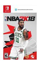 NBA 2K18 Standard Edition - Nintendo Switch Disc
