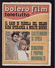 BOLERO 1038/1967 MARIOLINO CORSO INTER VANONI SORDI FRANCO TOZZI CASTELNUOVO