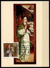 Weihnachten. Bilder von M. Schongauer. 4 Maximumkarten. Bonn. BRD 1991