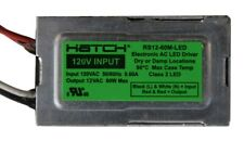 Hatch RS12-60M-LED • FREE Same Day Shipping! • 120V 12V 60 W small LED driver