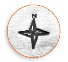Compass Metal Jewelry Design Stamp For Hand Stamping Jewelry True North Stamp