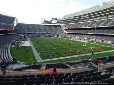 4 TICKETS TAMPA BAY BUCCANEERS @ CHICAGO BEARS 10/8 *Sec 225 Row 17*