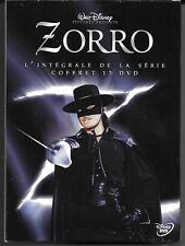 RARE L'INTEGRALE ZORRO ( DISNEY ) 82 EPISODES COFFRET 13 DVD SAISON 1 à 3 NEUF