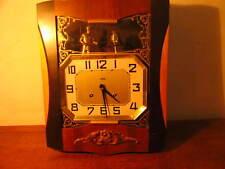 Horloge murale pendule carillon art deco ODO compléte