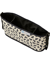 Keep Me Cosy™ Pram & Stroller Organiser, Cup Holder Caddy Bag - Navy Boat