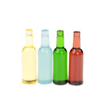 6pcs/set 1:12 dollhouse miniature dollhouse accessories mini wine bottles Tw