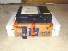 Sony cdp-c525 5 veces cambiador de CD, ovp&neu 2 años de garantía