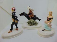 3 Sebastian Sleepy Hollow Miniatures: Ichabod, Horseman & Set#4