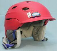 Smith Optics Vantage Snow Helmet Matte Red Pink Large 59-63cm New Ski Sports