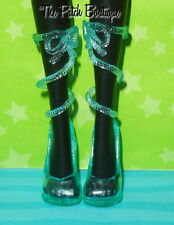 MONSTER HIGH LAGOONA BLUE FASHION PACK OUTFIT REPLACEMENT CLEAR STRAP SHOES ONLY