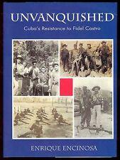 Unvanquished Book Cuba Fidel Castro Encinosa Havana