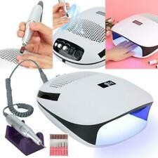 3-in-1 Electric Nail Drill Vacuum Suction Cleaner  Gel Curing Dryer Machine