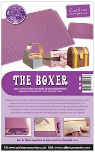 Crafters Companion THE BOXER - Box Creator / Maker Board - Scoreboard FREE UK PP