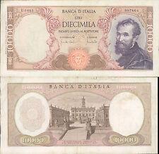 10.000 LIRE MICHELANGELO DEC.08/06/1970   BB++