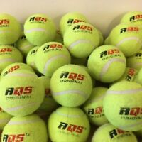 20 x Tennis Balls Bright Green For Pets Puppy Play Dog Toys Bouncing Ball By AQS