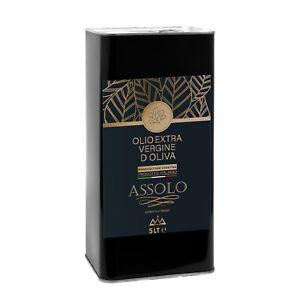 olio extravergine di oliva italiano Assolo 100% monocultivar coratina 2020/21