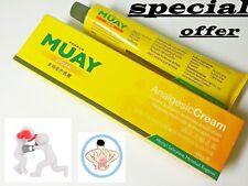 Nummun muay thai analgesic cream relieves muscular aches pain 100g x10 for 49.99