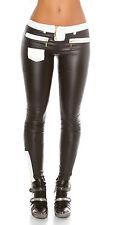 Women's Colorblock Slim Skinny Trouser Pant - S / M / L / XL