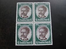 THIRD REICH Mi. #541 mint MNH stamp block of 4! CV $57.50