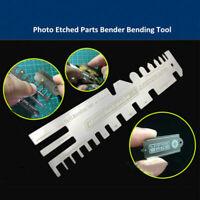 Metal Model Ship Tank Photo Etched Parts Bender Bending Folding Tool AJ0086 C#