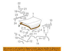 TOYOTA OEM 99-03 Solara Trunk Lid-Weatherstrip Seal 6446106020