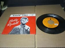 BOBBY RYDELL Kissin' Time 167 Cameo Records PICTURE SLEEVE A788 PL