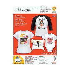 Jolee's Boutique Easy Image Iron-on Transfer Paper, White Fabrics 1 Pack