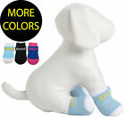 Anti-Slip Protective Pet Dog Socks Shoes Boots W/ Rubberized Micro Grips