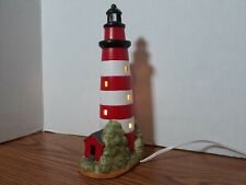 Lighted Geo Z Lefton 1991 Assateague Island, Md 1833 Lighthouse. Preowned