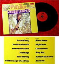 LP Pete Tex Saxophon Super Hits 1977