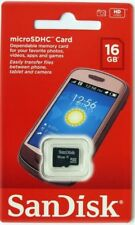 Micro SD Card 16GB SanDisk TF Memory SDHC for Android Mobile Phone Tablet