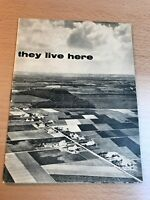 Vintage 1960's They Live Here Pamphlet of Denmark & Danish People in EC