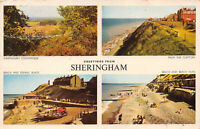 R232025 Greetings from Sheringham. Sheringham Countryside. From The Clifftops. B