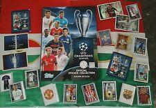 Album cartonato Champions League 2015 2016 con serie completa e bustina Topps