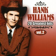 Hank Williams - Vol. 2-20 Greatest Hits [New CD] Canada - Import