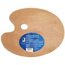 Art Altenatives Wooden Pallets 11.75x15.75 Oval Painting Varnished Wood Pallet